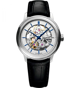 Nuevo! Reloj Raymond Weil Maestro Skeleton Rw2215stc65001