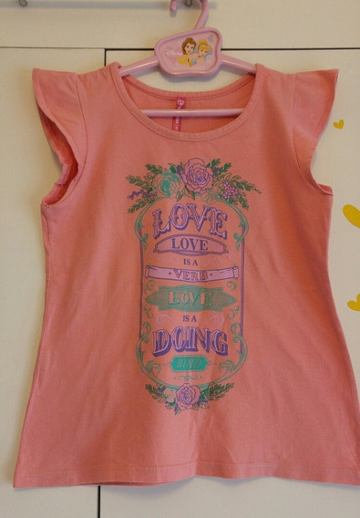 Remera Nena Marca Nucleo Talle 8 Impecable!