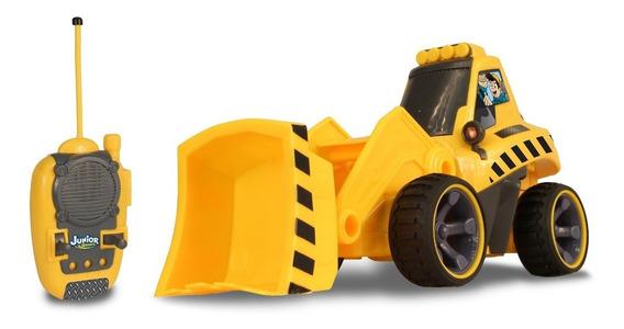 Carrinho De Controle Remoto Front Loader Junior Racers
