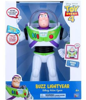 Toy Story 4 - Buzz Lightyear - Figura De Acción Parlante