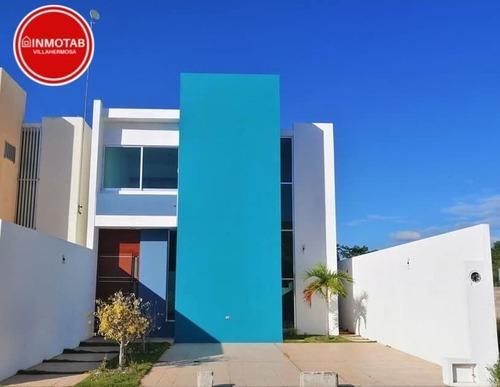 Casa Nueva En Venta En Real Campestre En Villahermosa