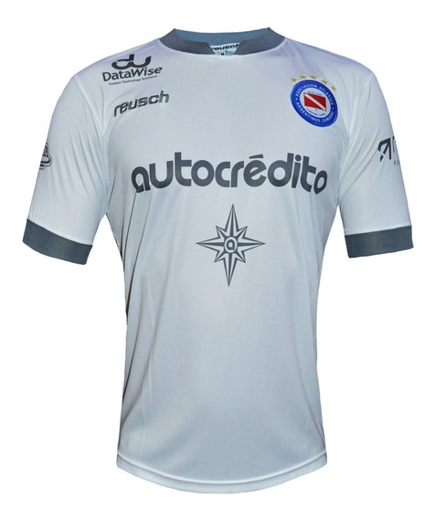 Camiseta Alternativa Argentinos Juniors Reusch 2019 Blanca