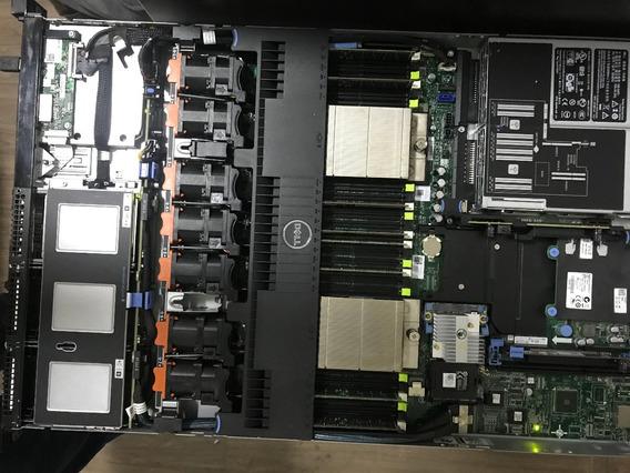 Servidor Dell R620 Octacore, Mem 64gb, Sas 2.4tb, 2 Fontes