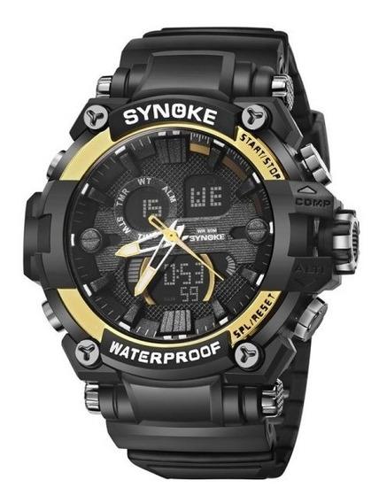 Relogio Synoke 4732 Melhor Que O G-shock E O Skimei