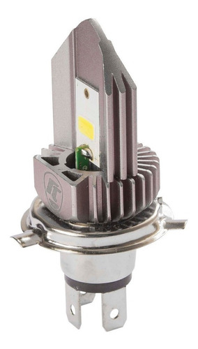 Imagem 1 de 6 de Lampada Do Farol H4 Super Branca Led Honda Falcon Nx 400