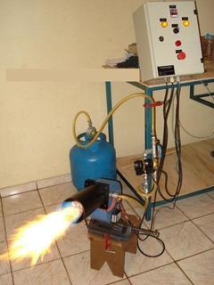 Queimador A Gás Industrial. (estufas/aquecimento)