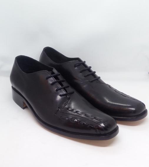 Zapatos Hombre Cuero Careva Art 7008 Zona Zapatos