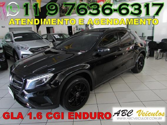 Mercedes-benz Gla 200 1.6 Cgi Enduro 16v Turbo Flex 4p