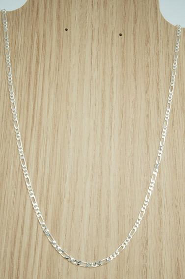 Corrente 3x1 C/ 3 Mm X 60 Cm Prata 925 (m8,3)