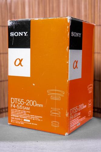 Lente Sony Dt 55-200mm F4-5.6 Sam Ii A-mount (sal55200/2)