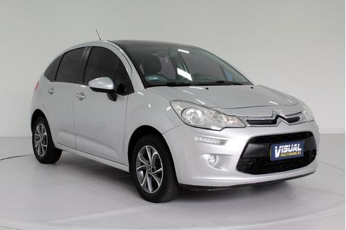 Citroën C3 1.5 Tendance Flex 4p Manual - 2013 - Prata