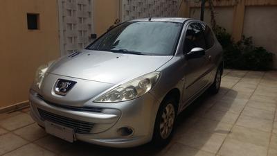 Peugeot 207 Xr-s 1.4 Flex - 2 Portas Cor Prata Ano 2009
