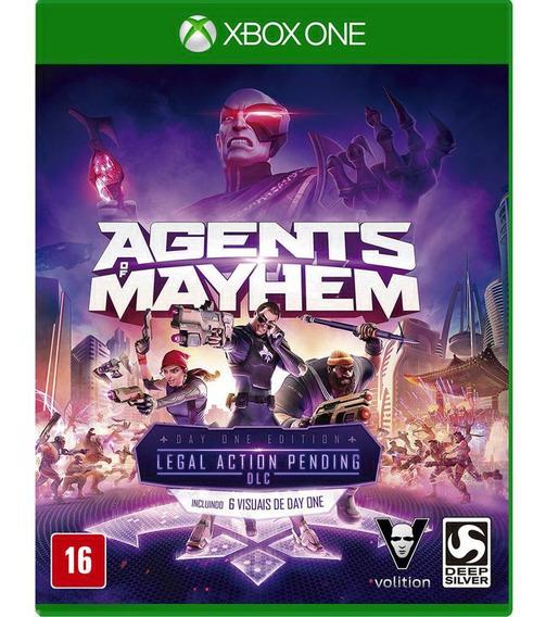 Agents Of Mayhem Xbox One Mídia Física Lacrada