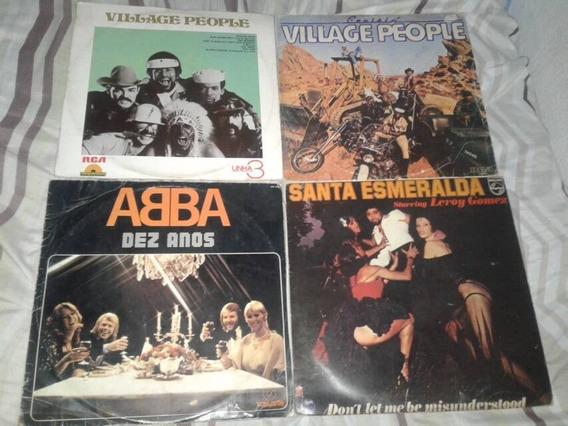 Disco Lp Vinil Albums Anos 70 Disco Music Lote Com 4 Unidade