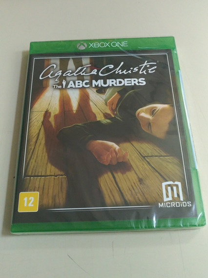 Agatha Christie: The Abc Murders - Xbox One - Novo Lacrado