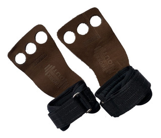 Luva Para Crossfit Marca Workout Hand Grip Couro Legitimo