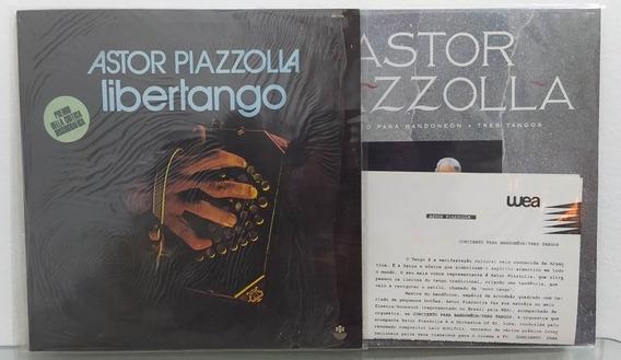 Lp Astor Piazzolla Libertango E Concierto Para Bandoneon