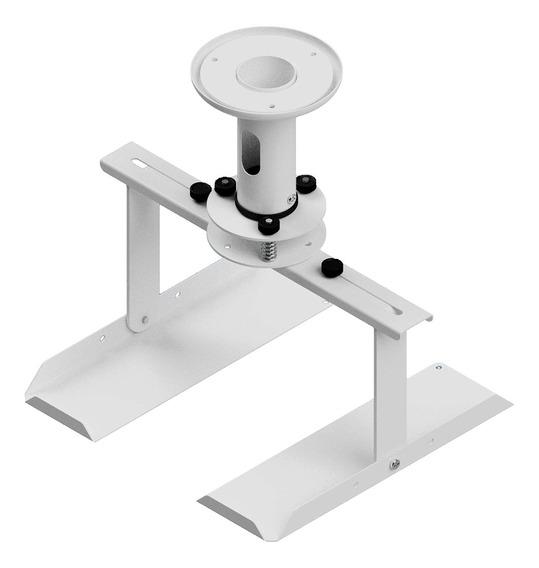 Suporte De Teto P/ Projetor Mini Avatron Sba-112m-w Branco