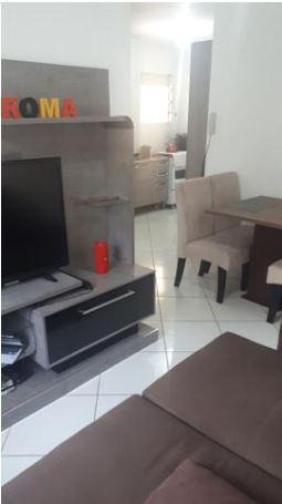 Apartamento Em Pacheco, Palhoça/sc De 55m² 2 Quartos À Venda Por R$ 132.500,00 - Ap254569