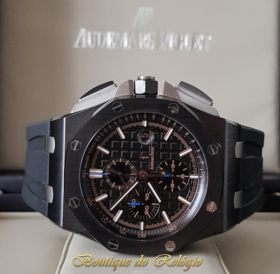 Relógio Eta - Modelo Roo Chronograph Ceramic - 44mm