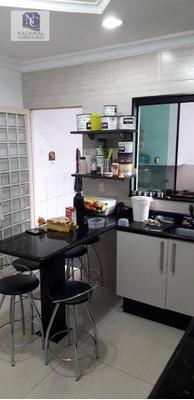 Sobrado Com 4 Dormitórios À Venda, 238 M² Por R$ 450.000 - Parque Novo Oratório - Santo André/sp - So3335
