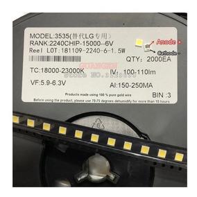 Kit 100x Led 6v 2w 3535 C/abas P/barras Tv Lg Innoteki -lb