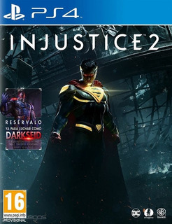 Injustice 2 | Ps4 | Fisico | Sellado | Station San Isidro |