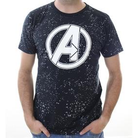 Playera Avengers Space Logo Máscara De Látex Endgame