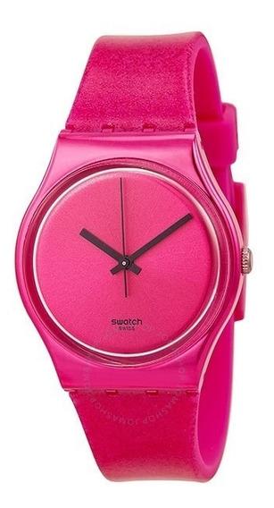 Swatch Originals Deep Pink Dial Silicone Unisex Gp139