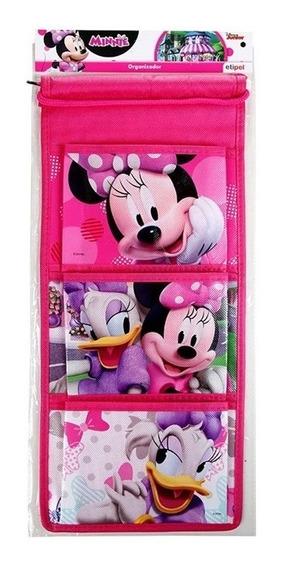 Organizador Infantil Parede Menina Criança Minnie Disney