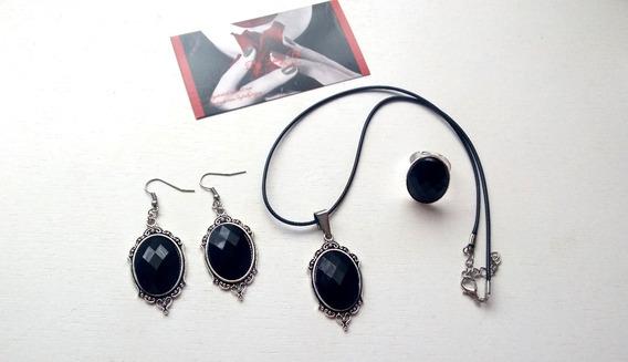 Conjunto Preto + Dark Gotico Vintage