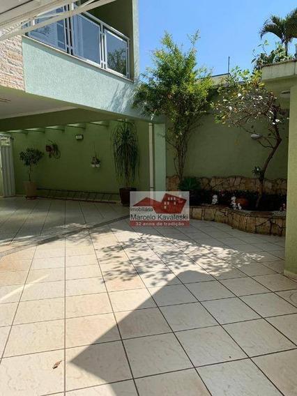 Sobrado Com 4 Dormitórios À Venda, 500 M² Por R$ 1.700.000 - Jardim São Caetano - São Caetano Do Sul/sp - So2423