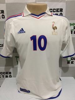 Camisa França Away Euro 2000 Zidane 10