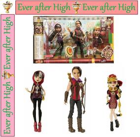 Ever After High Tri Castle On Lizzie Cerise Hunter Mattel