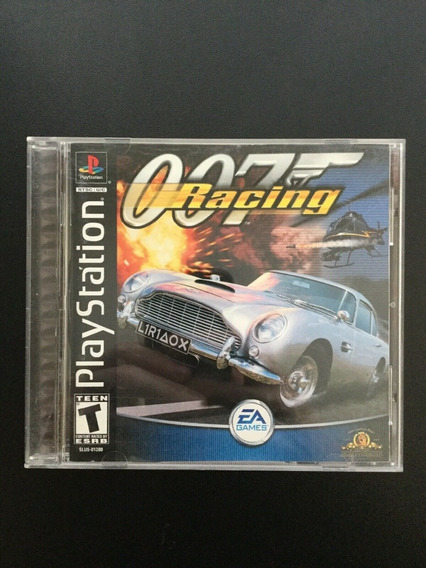 Ps1 - 007 Racing - Original - Sem Riscos - Ntsc