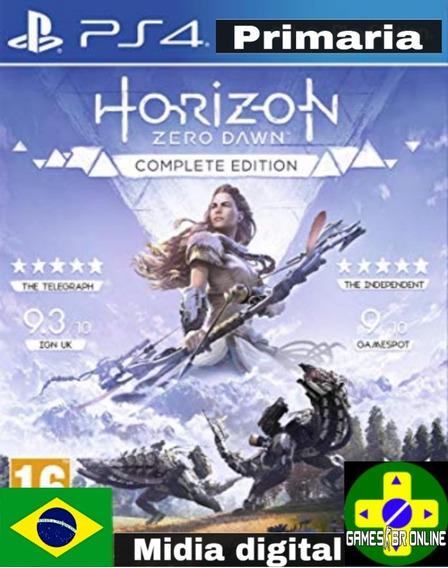 Horizon Zero Dawn Complete Edition - Ps4 Code 1 Envio Hoje