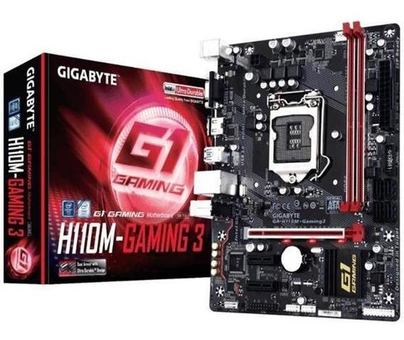 Motherboard Intel H110 - Ga-h110m-gaming 3