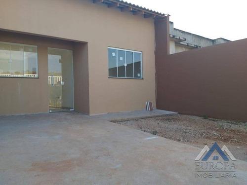 Imagem 1 de 11 de Casa À Venda, 60 M² Por R$ 160.000,00 - Jardim Paris - Londrina/pr - Ca1172