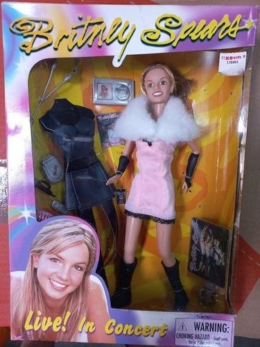 Imagem 1 de 7 de Boneca Britney Spears Live In Concert Roupa Extra 1999