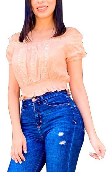 Blusas Dama De Moda Transparentes Modernas Blusa Mujer /d