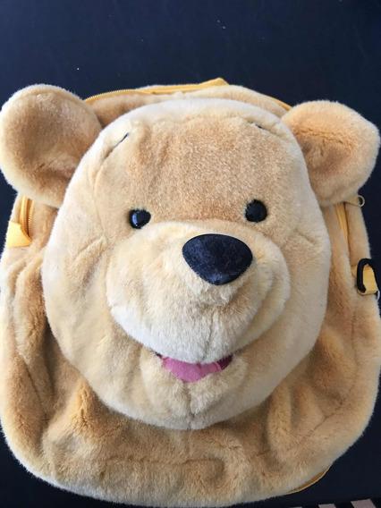 Disney Winnie-the-pooh Mochila Peluche Unica!