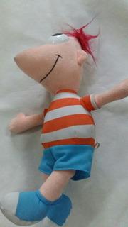 Peluche De Phineas De Phineas Y Ferb De 36 Cm