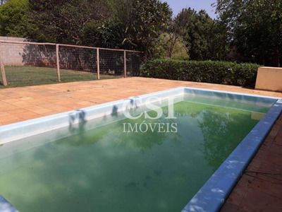 Chácara Com 2 Dormitórios Para Alugar, 1000 M² Por R$ 1.700/mês - Recanto Dos Dourados - Campinas/sp - Ch0063