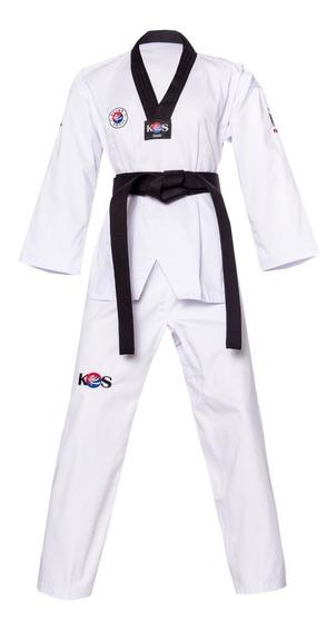 Korea Sport Taekwondo Dobok Champion Cuello Negro