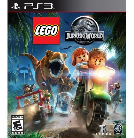 Lego Jurassic World Ps3 - Leia Descrição