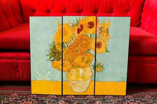Cuadros Modernos Los Girasoles - Van Gogh - Arte