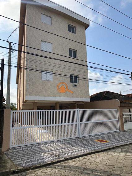 Apartamento Com 2 Dorms, Vila Cascatinha, São Vicente - R$ 185 Mil, Cod: 348 - V348