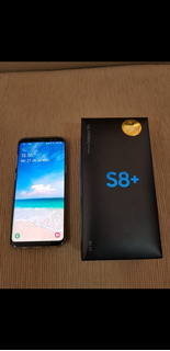 Samsung Galaxy S8 Plus 64gb Prata Semi Novo + Nota