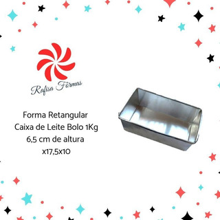 Forma Caixa De Leite Bolo 1kg Avulso