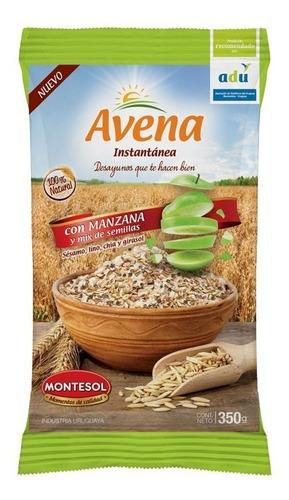 Avena Instantanea Con Manzana Y Mix De Semillas 350g-pack X6